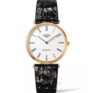 Men's Rose PVD La Grande Classique 36mm Automatic Watch