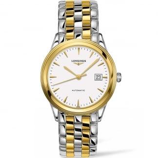 Men's Two Tone Flagship Les Grande Classique Automatic Watch L4.874.3.22.7