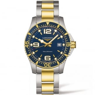 Men's Two Tone HydroConquest Quartz 41MM Watch L3.740.3.96.7