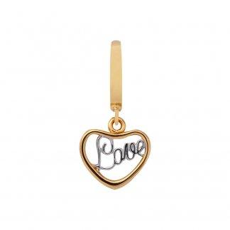 Love Gold Charm E35300