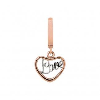 Love Rose Gold Charm E37300