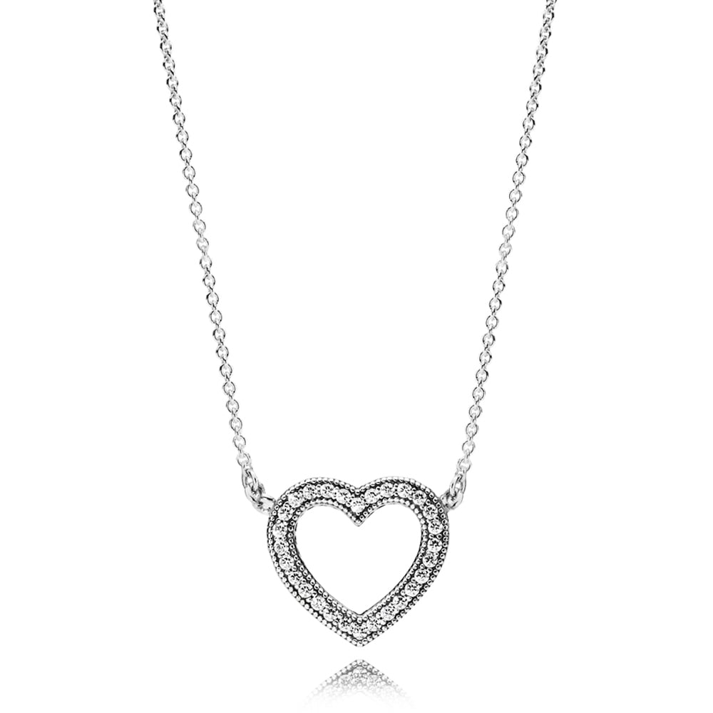 a5e4a54428f0 Pandora Loving Hearts of PANDORA Necklace - Jewellery from Francis ...
