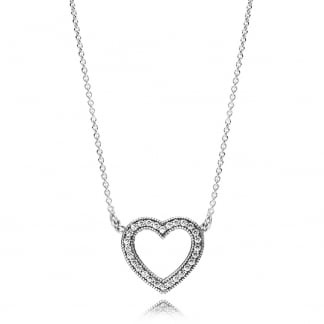 Loving Hearts of PANDORA Necklace