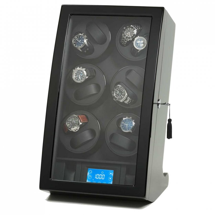 Barrington Watch Winders Luxury 12 Watch Digital Winder BWW-Lux-12