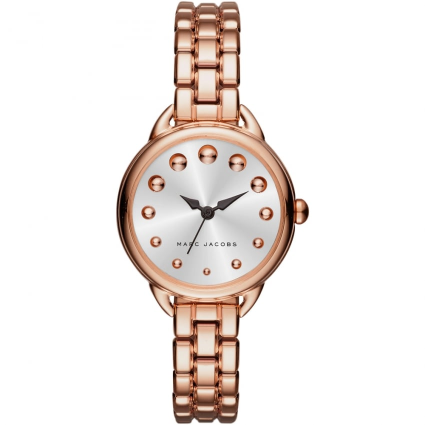 Marc Jacobs Ladies Betty Rose Gold Bracelet Watch MJ3496