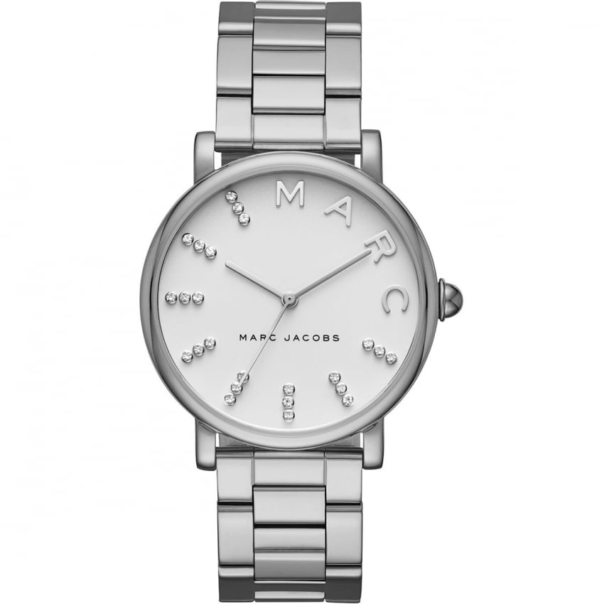 Marc Jacobs Ladies Classic Glitzy Dial Bracelet Watch MJ3566