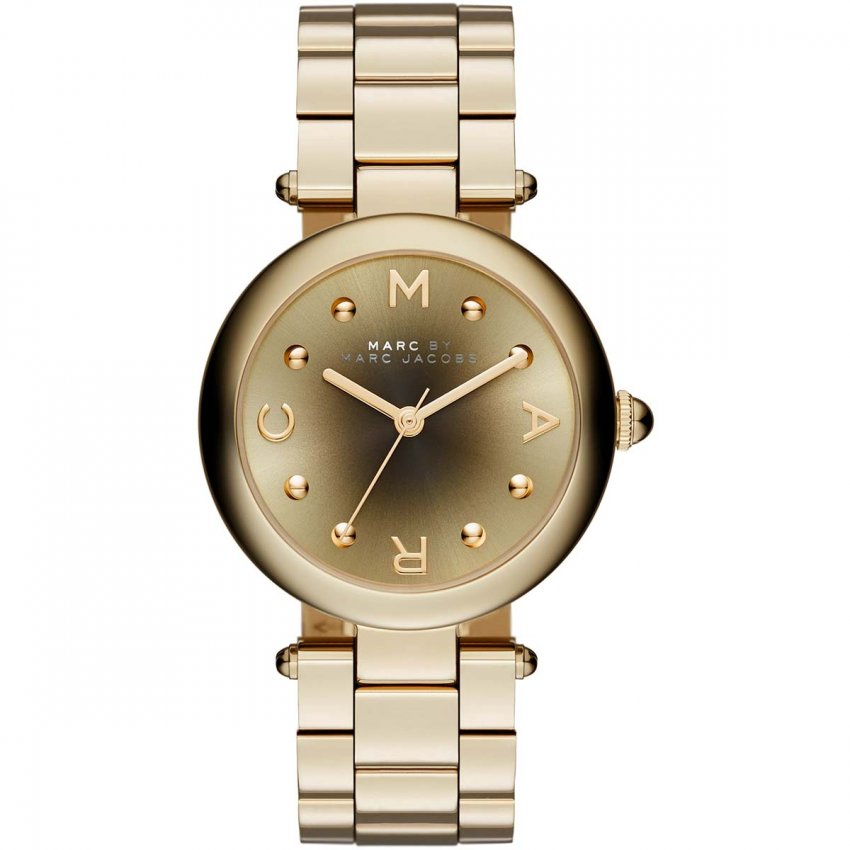 Marc Jacobs Ladies Gold Dotty Watch With Graduated Dial MJ3448