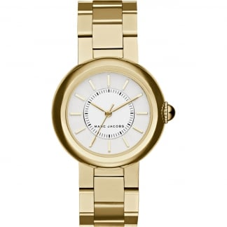 Ladies Gold with White Dial Courtney Watch MJ3465