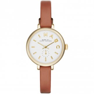 Ladies Sally Petite Tan Leather Watch