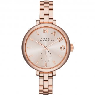Ladies Sally Rose Gold Quartz Watch MBM3364