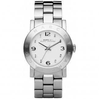 Ladies Silver Tone Amy Bracelet Watch MBM3054