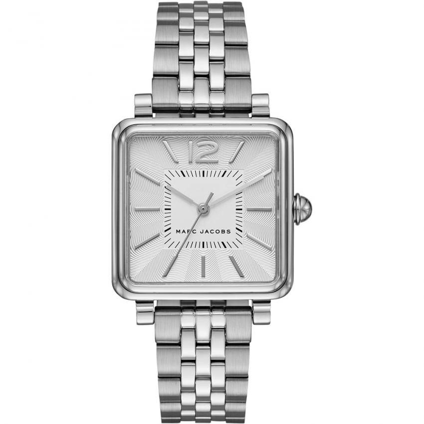 Marc Jacobs Ladies Vic Silver Tone Bracelet Watch MJ3461