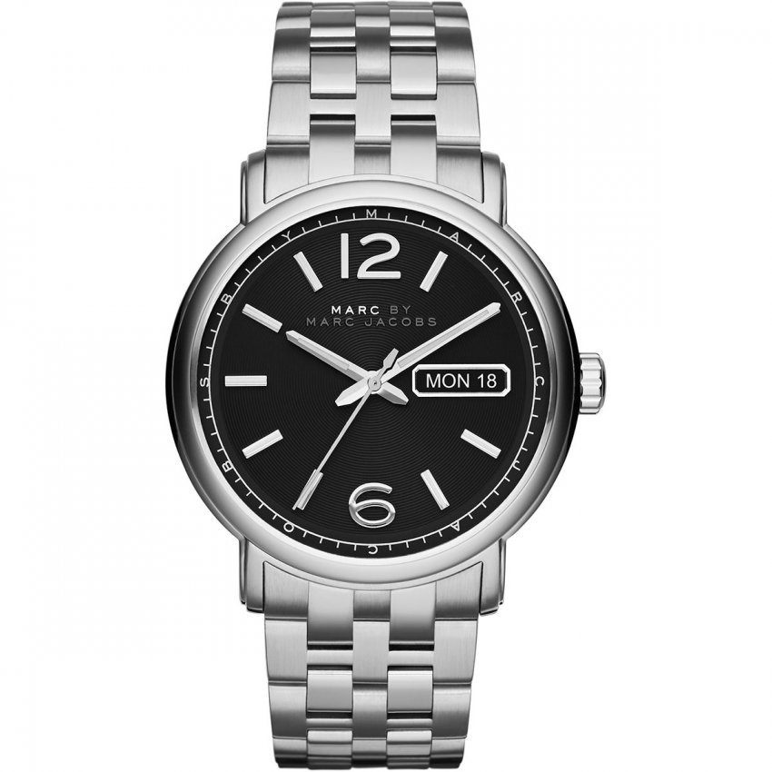 Marc Jacobs Men's All Steel Day & Date Fergus Watch MBM5075