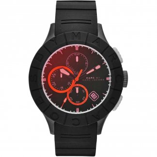 Men's Buzz Track Multifunction Red Dial Watch