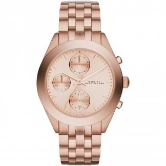 Peeker Rose Gold Chronograph Watch MBM3394