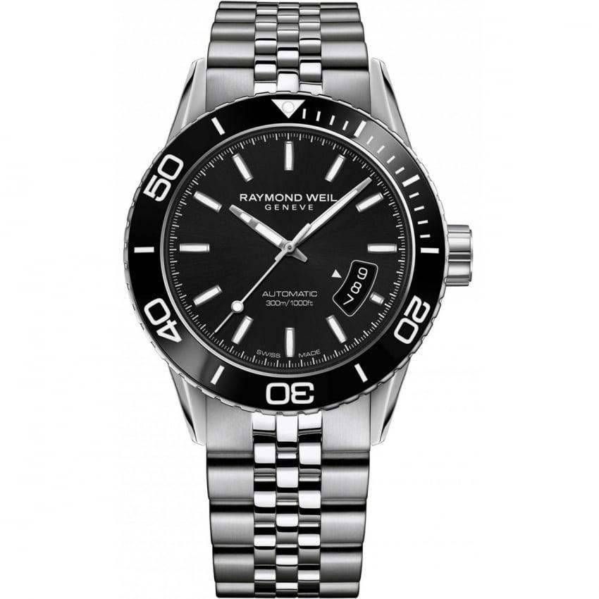 Raymond Weil Men's Freelancer Automatic Steel Diver's Watch 2760-ST1-20001