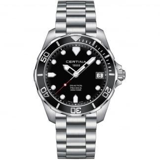 Men's DS Action Diver 41mm Black Dial Quartz Watch