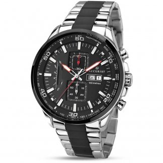 Men's 100M Two Tone Chronograph Watch