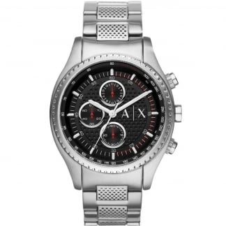 Men's Chronograph Stainless Steel Bracelet Watch