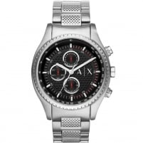 Armani Exchange Men's Chronograph Stainless Steel Bracelet Watch AX1612