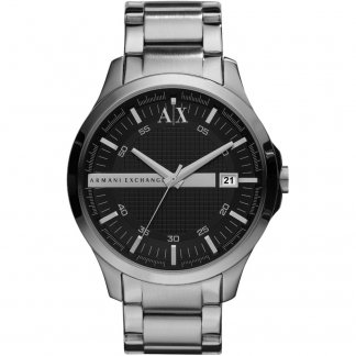 Men's Stainless Steel Bracelet Watch AX2103