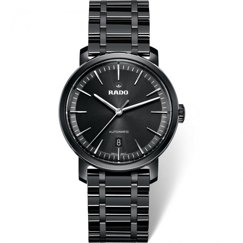 RADO Men's Automatic High Tech Ceramic DiaMaster Watch R14073182