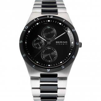 Men's Black Ceramic & Steel Chronograph Watch 32339-742