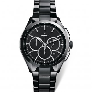 Men's All Black HyperChrome Automatic Chronograph Watch R32275152