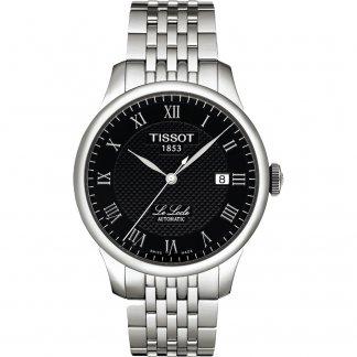 Men's Black Dial Automatic Le Locle Watch T41.1.483.53