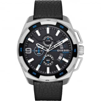 Men's Black Heavy Weight Chronograph Watch