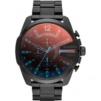 Men's Black Multifunction Mega Chief Watch