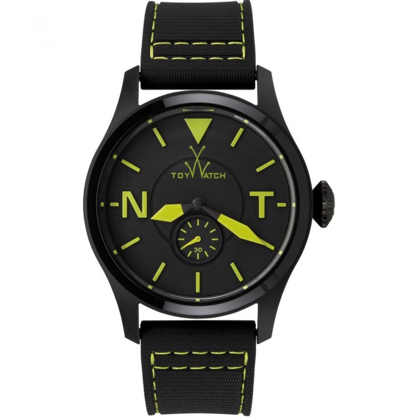 ToyWatch Men's Black & Yellow Toy2Fly Watch TTF07BKGR