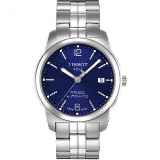 Men's Blue Dial PR 100 Automatic Gent Watch T049.407.11.047.00