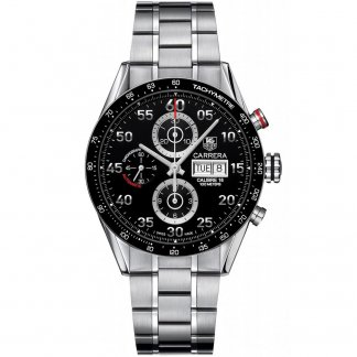 Men's Carrera Calibre 16 Day/Date Chronograph Watch