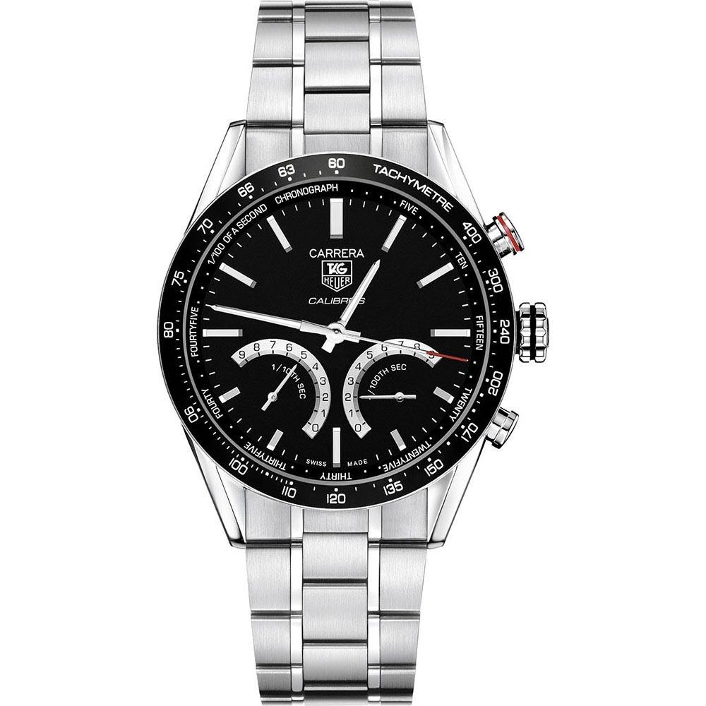 cf023e8357c TAG Heuer Men's Carrera 1/100th Sec Electro-Mechanical Watch Product Code:  CV7A12.BA0795