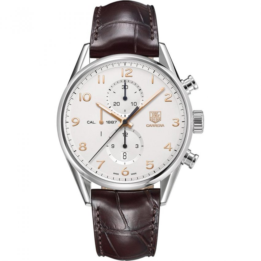 TAG Heuer Men's Carrera Calibre 1887 Automatic Chronograph Watch CAR2012.FC6236