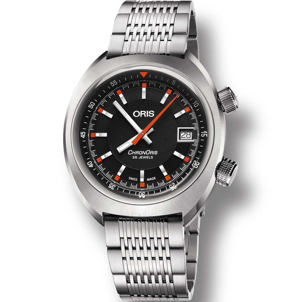 718ae73ad ORIS Men's Chronoris Date 39mm Automatic Watch - Watches from ...