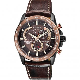 Men's Perpetual Chrono A.T Alarm Chronograph Watch AT4006-06X