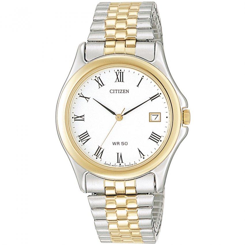 Watches citizen citizen men s quartz expansion bracelet watch