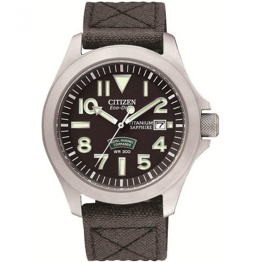 Citizen Men's Royal Marines Commandos Super Tough Watch BN0110-06E
