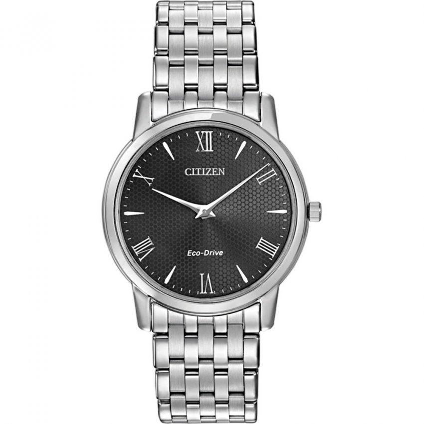 men s citizen ar1120 50f watch francis gaye jewellers citizen men s stiletto eco drive dress watch black dial ar1120 50f