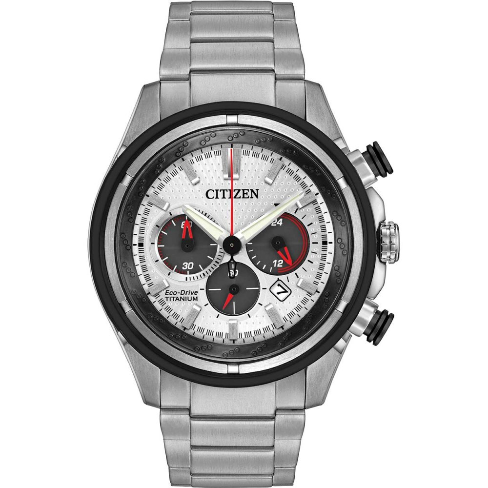 0cd8f5eed Citizen Men's Super Titanium Chronograph Eco-Drive Watch Product Code:  CA4240-58A