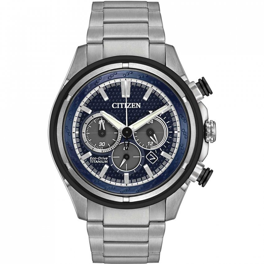 Buy the men 39 s citizen ca4240 82l watch francis gaye jewellers for Titanium watches