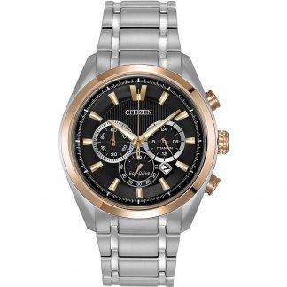 Men's Titanium Dual Tone Chronograph Watch CA4017-59E