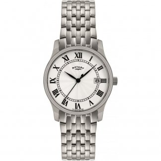 Men's Classic All Steel Dress Watch