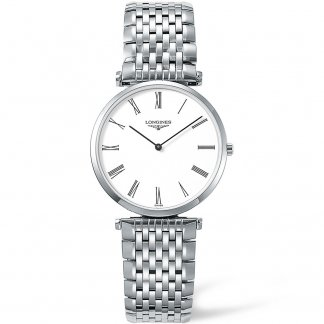 Men's Classic La Grande Classique Steel Bracelet Watch L4.709.4.11.6