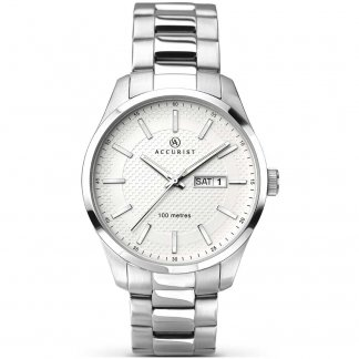 Mens Day/Date Classic Bracelet Watch