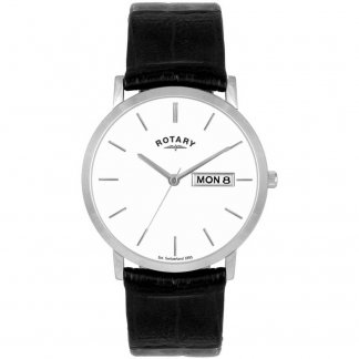 Men's Day & Date Display Dress Watch