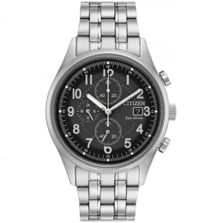 Men's Eco-Drive Steel Chandler Watch