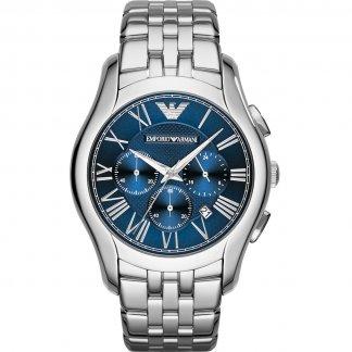 Men's Signature Blue Chronograph Dial Watch AR1787